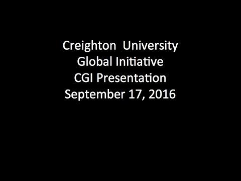 Creighton University CGI presentation