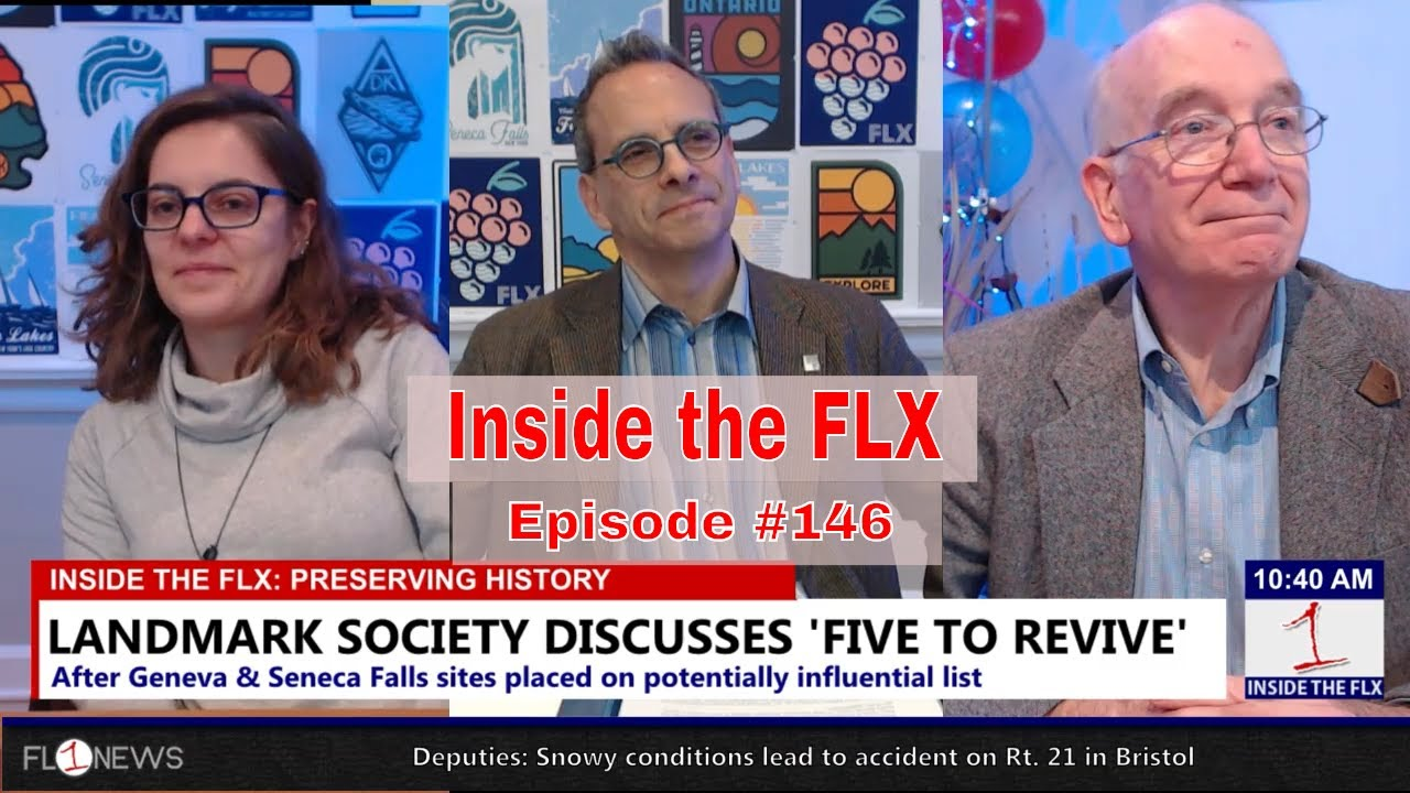 INSIDE THE FLX: Discussing 'Five to Revive' in Geneva & Seneca Falls (podcast)