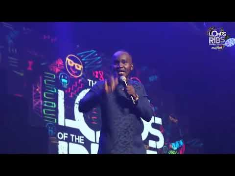 Wow! Comedian OB Amponsah Shuts It Down 'Lord Of The Ribs' In Nigeria