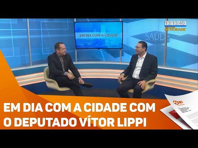 Em dia com a cidade com o deputado Vítor Lippi - TV SOROCABA/SBT