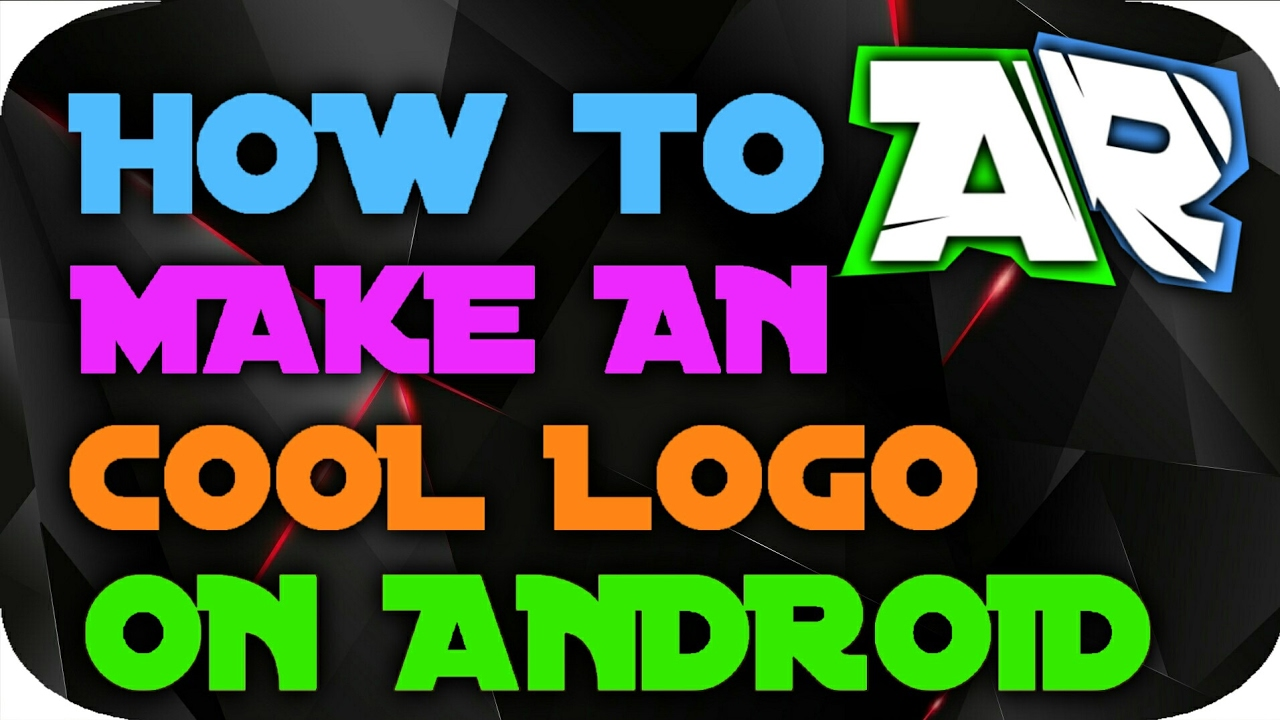 how to make a cool logo