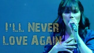 KATRINA VELARDE - I'll Never Love Again (The MusicHall Metrowalk | November 28, 2018) #HD720p