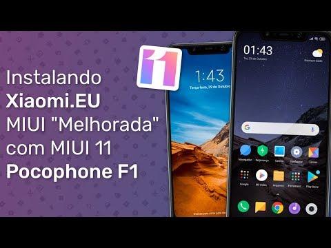 Instalando Xiaomi.EU (MIUI 11) No Pocophone F1