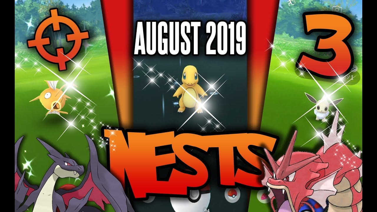 NEW* Top 3 BEST Shiny Nest Coordinates in Pokemon GO