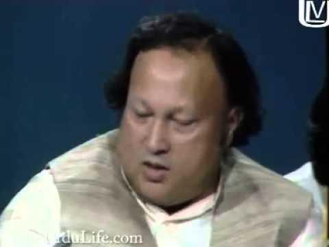 ustad nusrat fateh ali khan sb. describing...