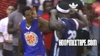 Brandon Jennings VS Josh Selby!!! The Battle In Baltimore At Melo League!