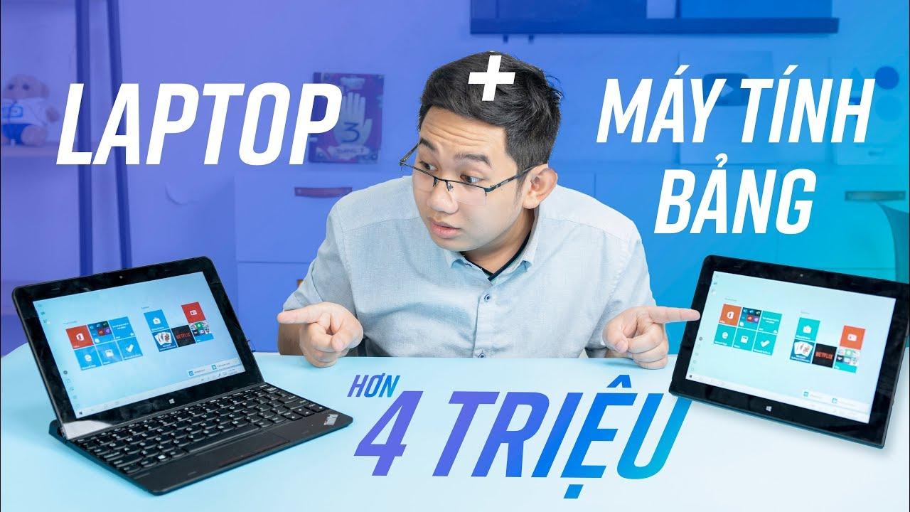 Máy tính bảng hơn 4 triệu mà có thể làm việc như một chiếc laptop – ThinkPad 10