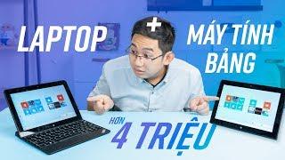 Máy tính bảng hơn 4 triệu mà có thể làm việc như một chiếc laptop - ThinkPad 10