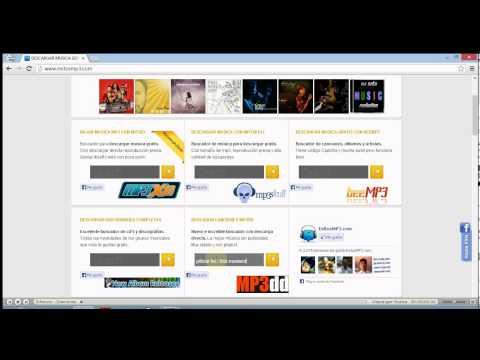 Cómo descargar música gratis desde exitosmp3.com con buscador mp3dd