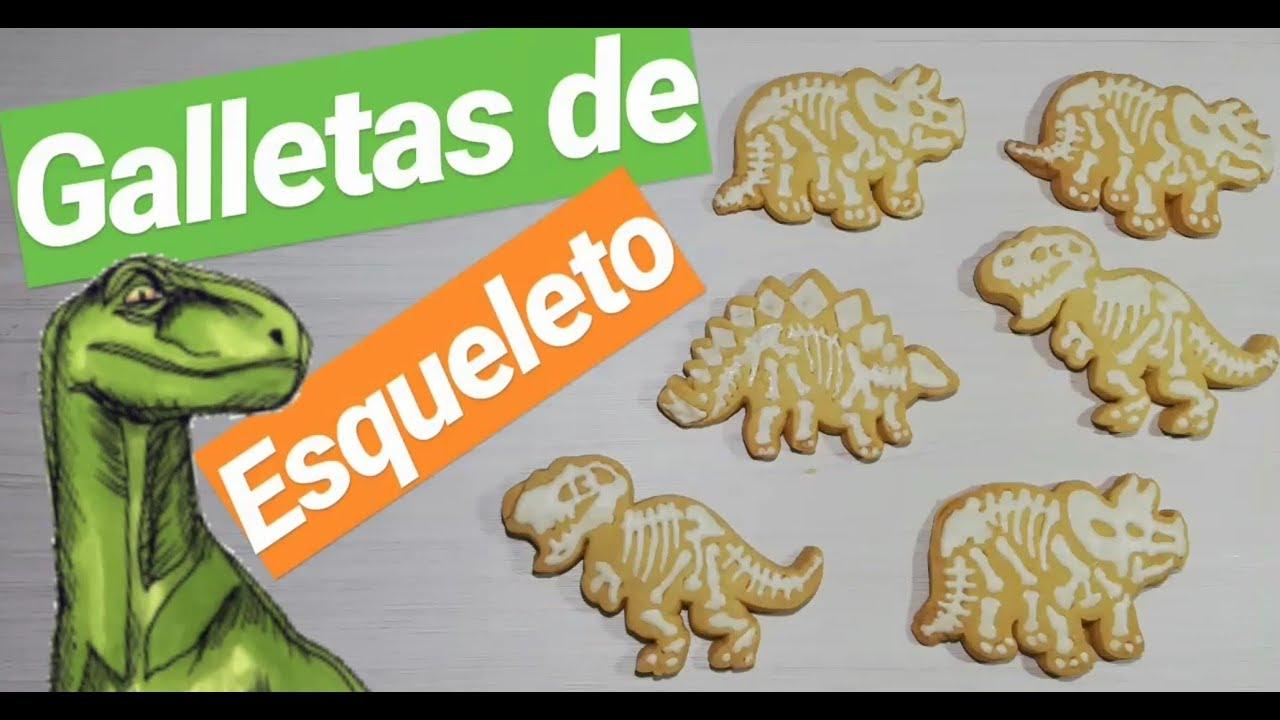 Galletas De Esqueleto De Dinosaurios Youtube Joder, esas galletas llevan más de 20 años vendiéndose y nunca fallan, siempre hay demanda. galletas de esqueleto de dinosaurios