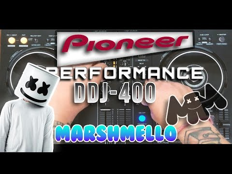 Pioneer DDJ 400 Performance Mix ||  Marshmello Best Songs  || Joseph G||