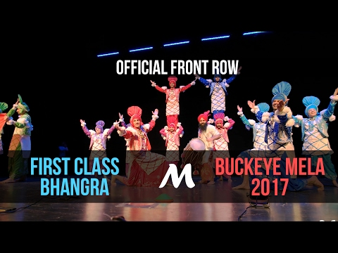 [2nd Place] First Class Bhangra | Buckeye Mela 2017 [Official Front Row 4K]