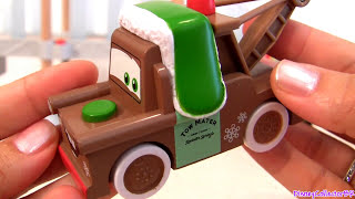 Wood Cars Whee Hoo Winter Mater Holiday Finn Mcmissile Cars2 Collection Disney Pixar
