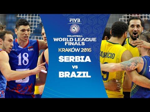 FIVB - World League Final 2016 - Serbia v Brazil