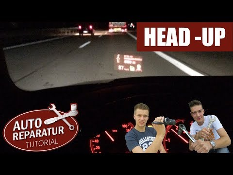 HEAD-UP DISPLAY EINSTELLEN | HUD Zu tief ?! | BMW E60 E61 E70 X5 [Tutorial] HD HUD setting