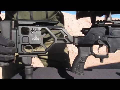 2017 Shot Show - 2017 IWI (Israel Weapons Industry) 338 Lapua Tactical Sniper Rifle
