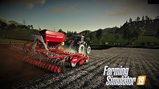 farming simulator 19 Europejski Rolnik odc29 Siejemy