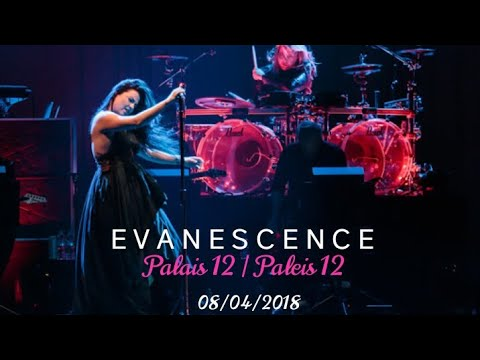 Evanescence - SYNTHESIS BACKSTAGE | Palais 12/Paleis 12 Brussels, Belgium (08/04/2018)