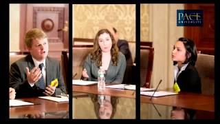 Pace Economics Team and the National College Fed Challenge