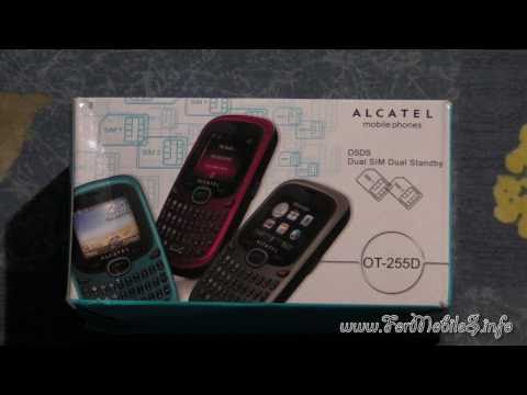 Unboxing di Alcatel OT-255D Cherry Red - esclusiva mondiale !