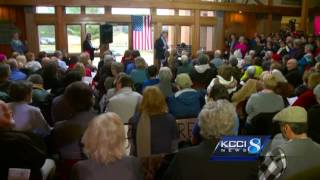 RAW: Peek in on Rep. David Young's town hall meeting