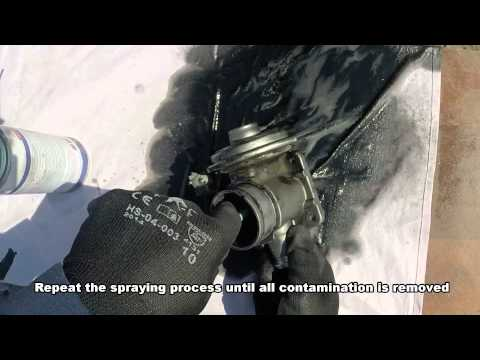how to clean egr valve
