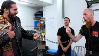 Seth Rollins' wild tour of Cirque du Soleil's