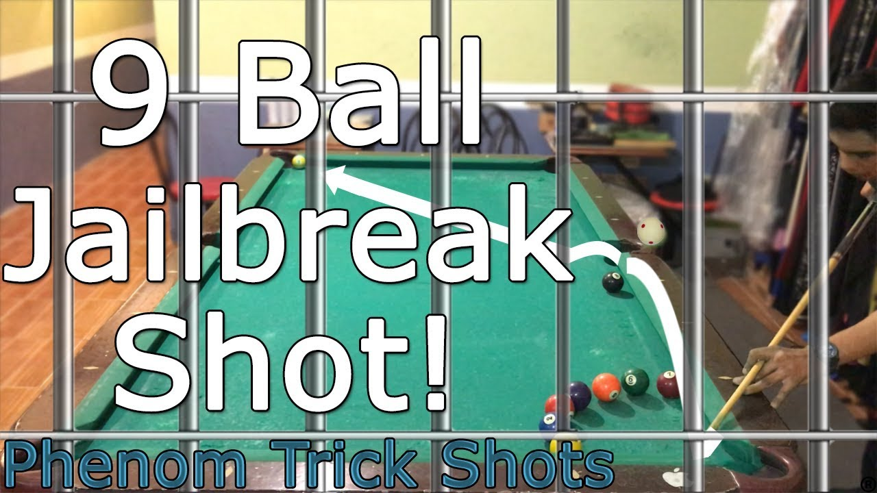 """9 Ball Jailbreak"" Pool Trick Shot 
