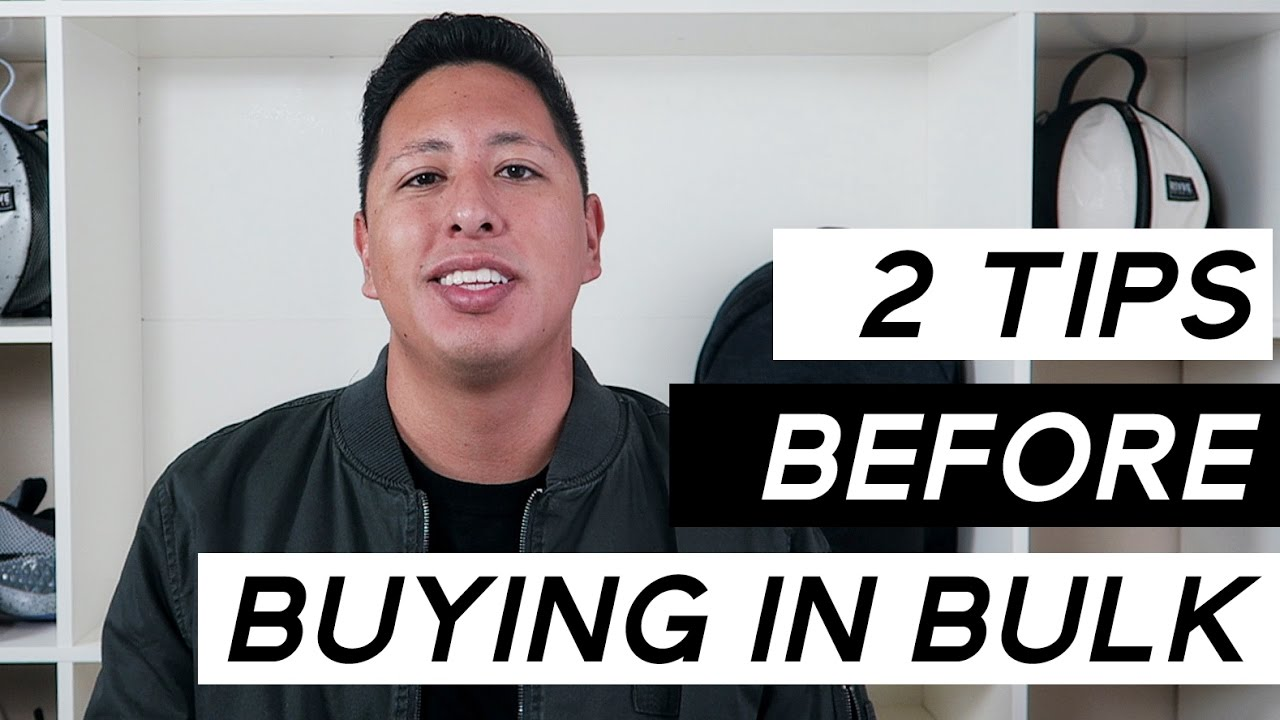 Starting A Clothing Line | 2 Tips Before Buying Inventory