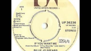 Billie Jo Spears ~ If You Want Me