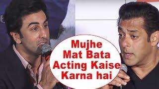 Ranbir Kapoor ANGRY Reply To Salman Khan For Insulting Sanju Trailer