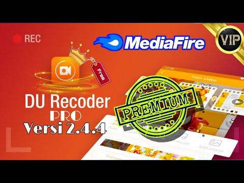 Du Recorder Pro mod apk, Premium unlocked, FHD 1080p, no ads, no watermark, no root,