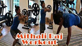Mithali Raj live video | Workout in Gym | Latest Live