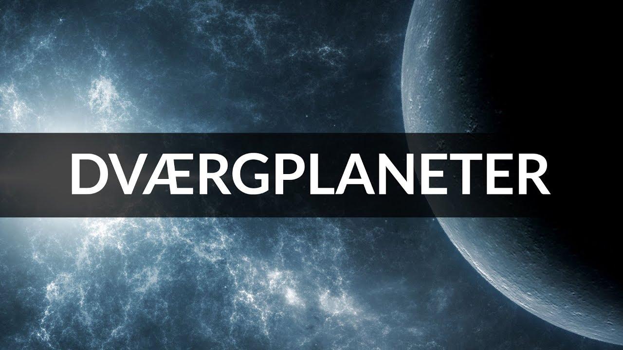 Dværgplaneter - Rummet og vores solsystem - Natur og teknologi på hovedet - NTPH