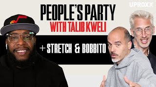 Talib Kweli And Stretch & Bobbito Talk Show Freestyles, Lil' Kim, Jay-Z, Nas | People's Party Full
