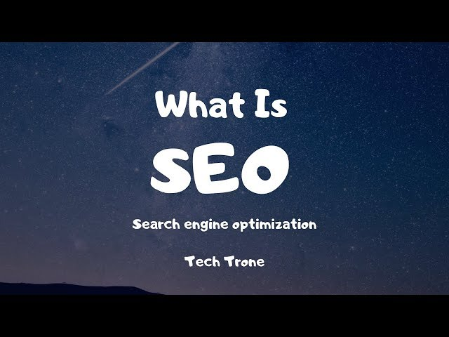 What Is SEO(Search Engine Optimization), How SEO Works? Explain in Hindi...
