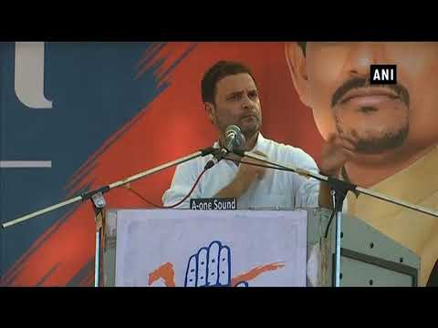 Whenever an Indian clicks selfie, a Chinese youth gets employment: Rahul Gandhi - ANI News