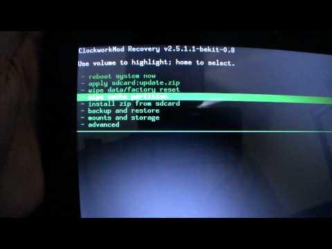Instalacion de ROM en la Viewsonic gTablet - Android Latino