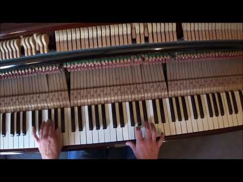 BLUEBERRY HILL PIANO TUTORIAL.THE BEST YET ON YOUTUBE.