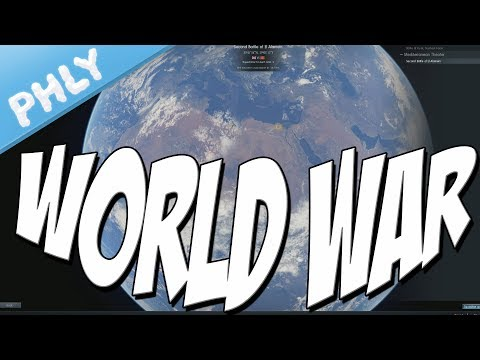WORLD WAR MODE - Living Breathing Battlefield (War Thunder Gameplay)
