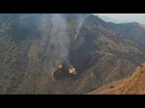 Plane with 48 aboard crashes in Pakistan