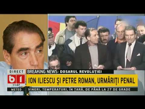 TALK B1: ION ILIESCU SI PETRE ROMAN, URMARITI PENAL, 13 APR 2018