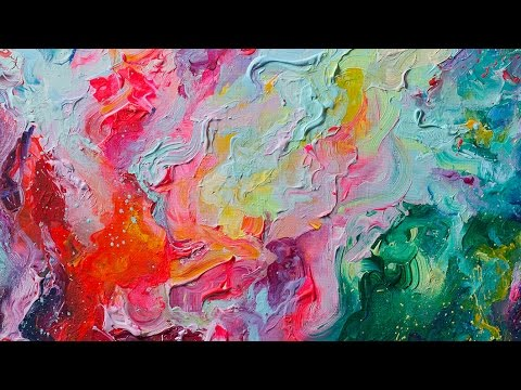 Elements Of Art Painting : Elements abstract painting process youtube