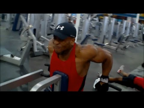 Training Delts & Arms With A POG Member