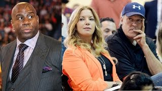The REAL Reason Jeanie Buss Finally Fired Jim Buss & Hired Magic Johnson