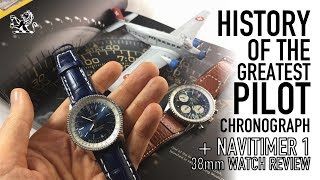 History Of The Greatest Pilot Watch & Breitling Navitimer 1 38mm Review - Pure Class or Disaster?