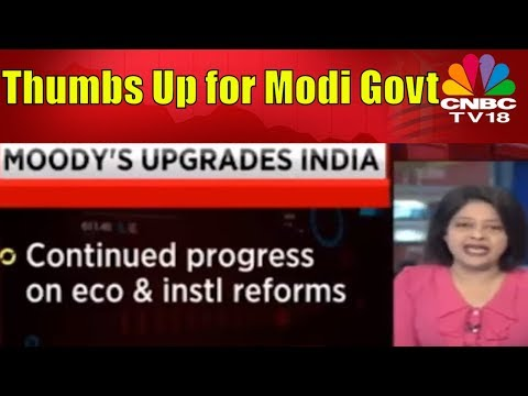 Moody's Upgrades India's Govt Bond Rating to Baa2 from Baa3 | CNBC TV18