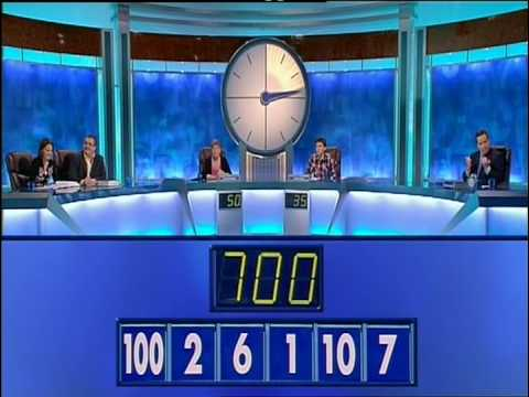 Countdown Blooper - The Easiest Numbers Game Ever? (2) - YouTube