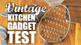 Download VINTAGE KITCHEN GADGET TEST - Do They Work? Mp3 and Videos