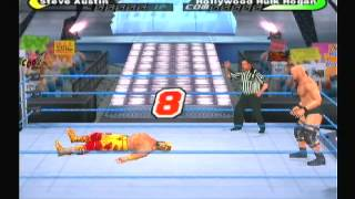 WWE Smack Down Shut Your Mouth gameplay Ps2
